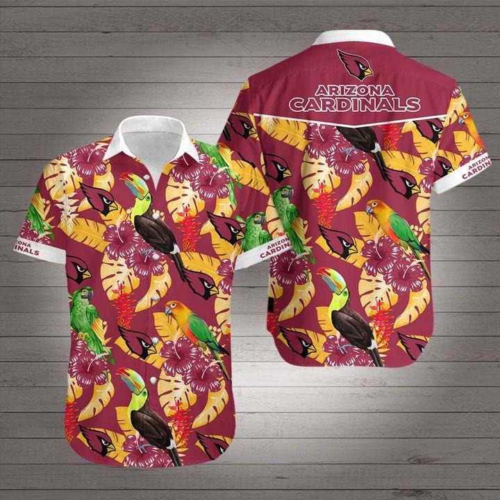 NFL arizona cardinals hawaiian shirt 3