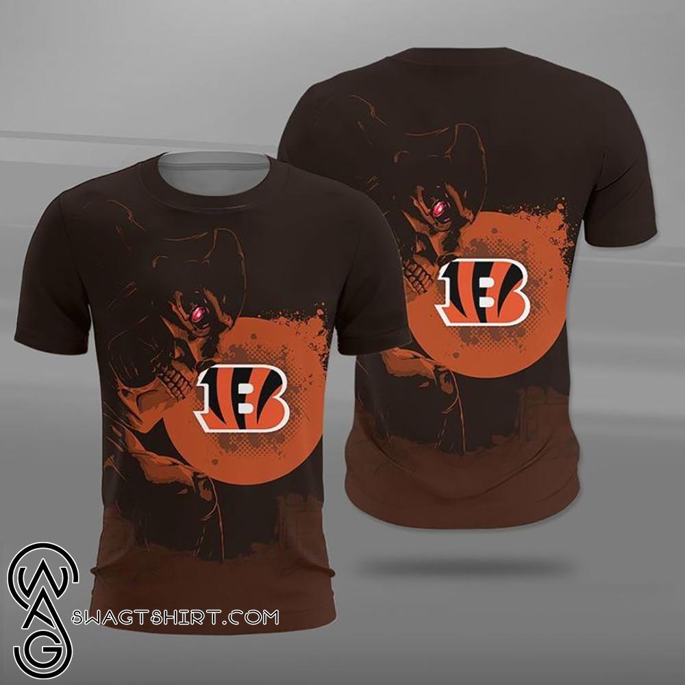 NFL cincinnati bengals terminator full printing shirt