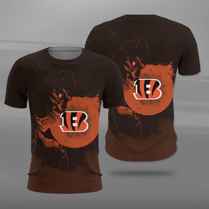 NFL cincinnati bengals terminator full printing tshirt