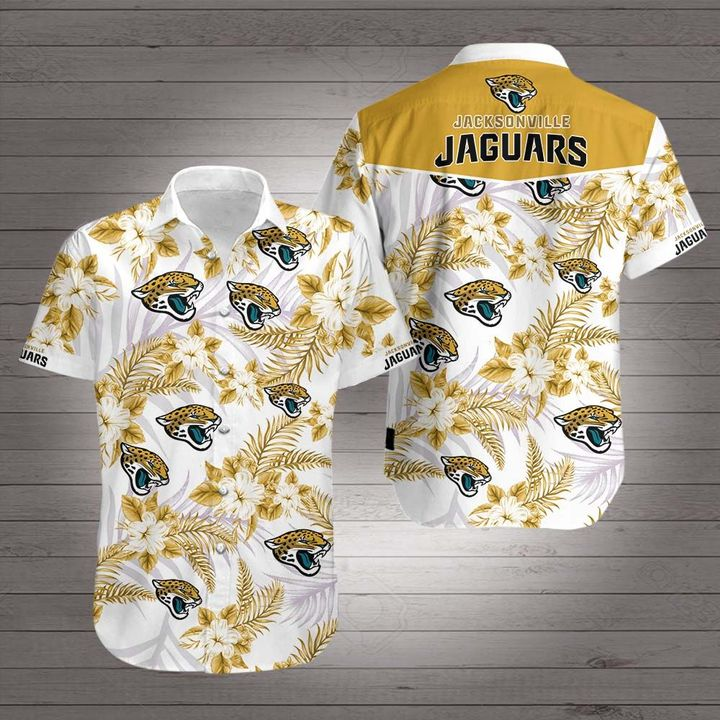 NFL jacksonville jaguars hawaiian shirt 1