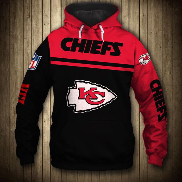 NFL kansas city chiefs team hoodie