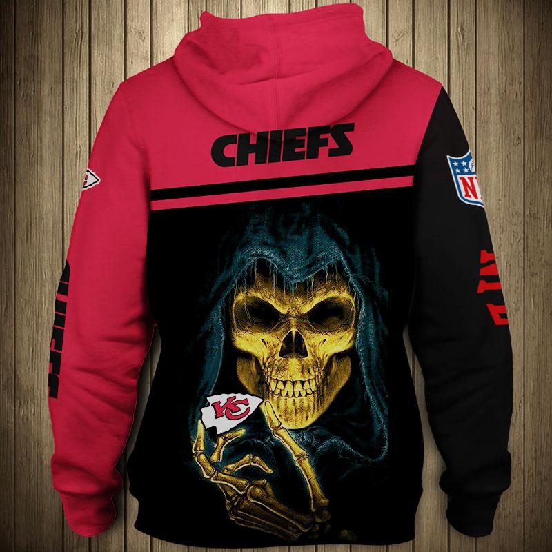 NFL kansas city chiefs team zip hoodie 1