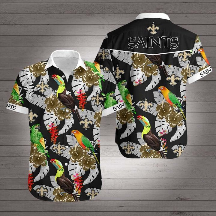 NFL new orleans saints hawaiian shirt 2