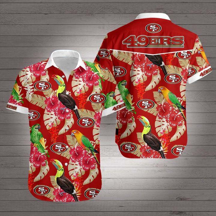 NFL san francisco 49ers hawaiian shirt 4