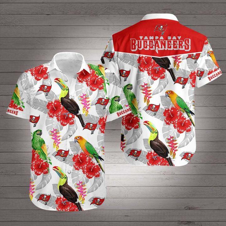 NFL tampa bay buccaneers hawaiian shirt 1