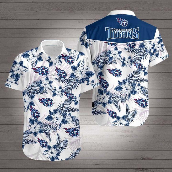 NFL tennessee titans hawaiian shirt 2