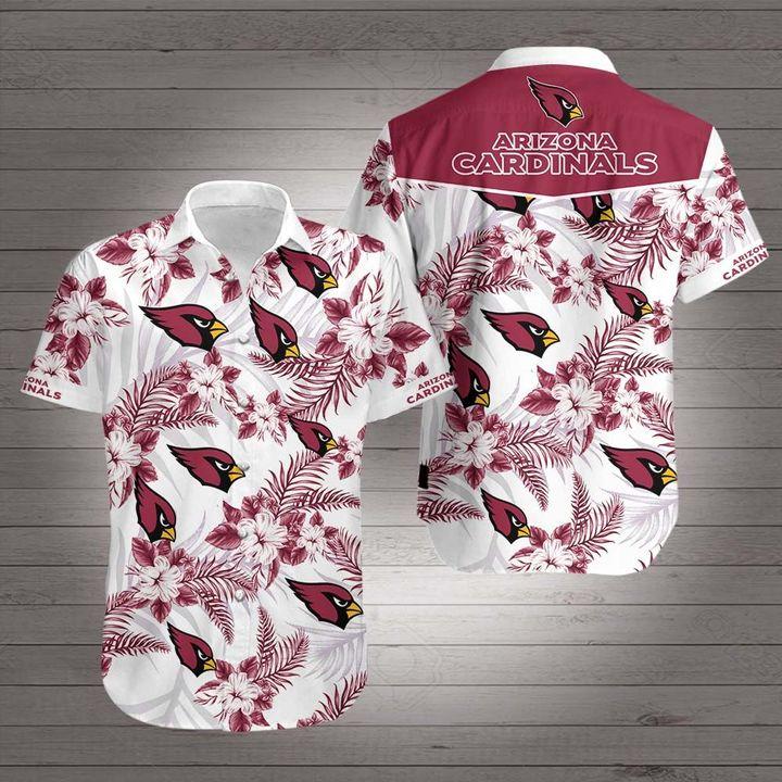 National football league arizona cardinals hawaiian shirt 2
