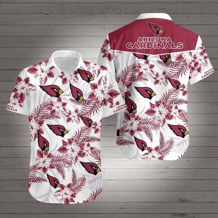 National football league arizona cardinals hawaiian shirt 3