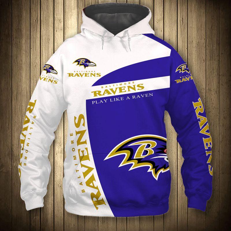 National football league baltimore ravens hoodie
