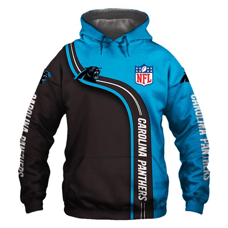 National football league carolina panthers hoodie