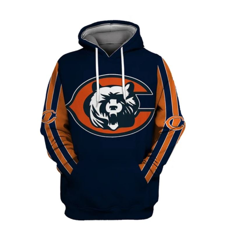 National football league chicago bears hoodie 1
