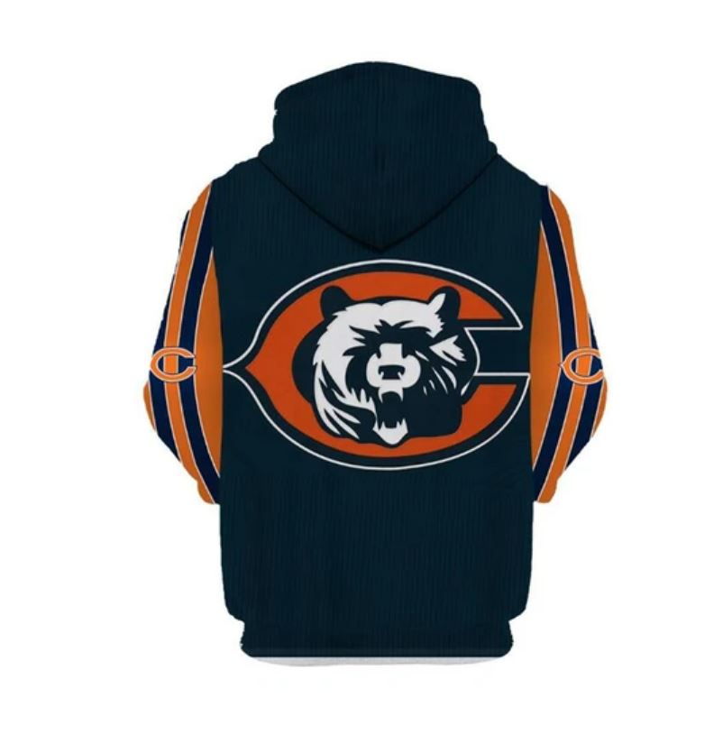 National football league chicago bears hoodie 3