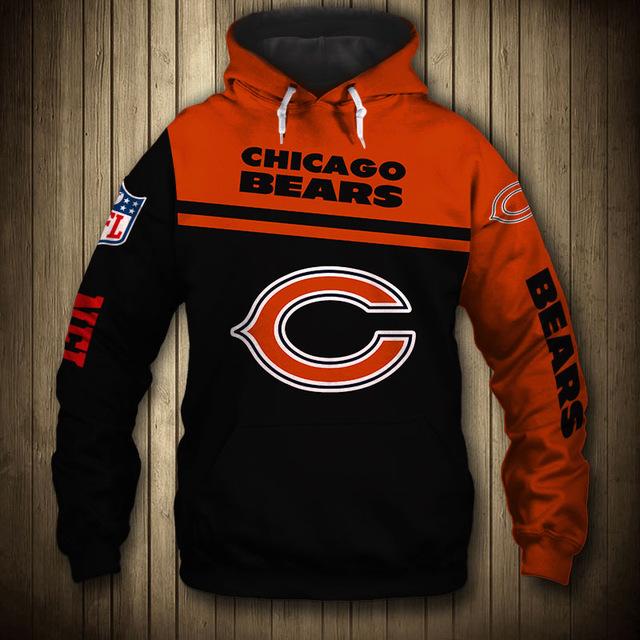 National football league chicago bears team hoodie