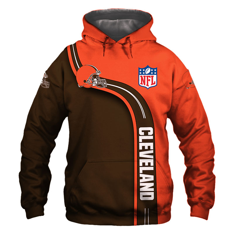 National football league cleveland browns hoodie