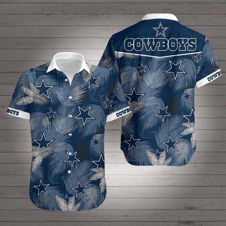 National football league dallas cowboys hawaiian shirt 1