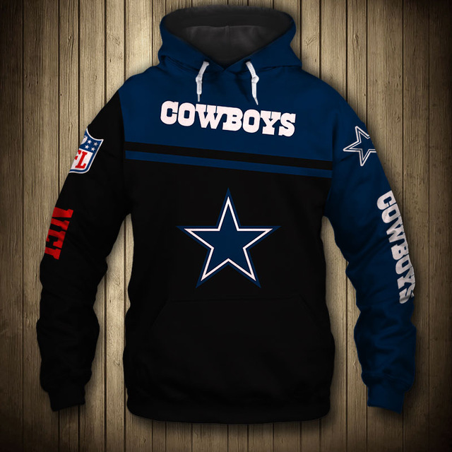 National football league dallas cowboys team hoodie
