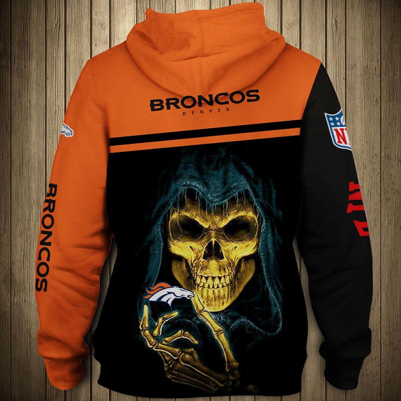 National football league denver broncos team hoodie 1
