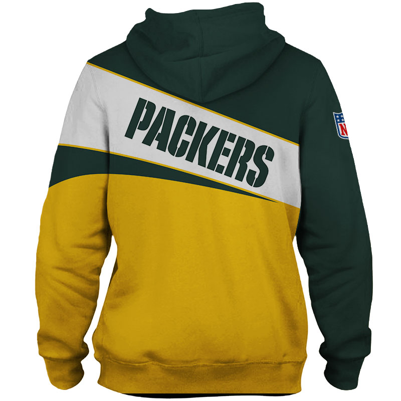 National football league green bay packers zip hoodie 1