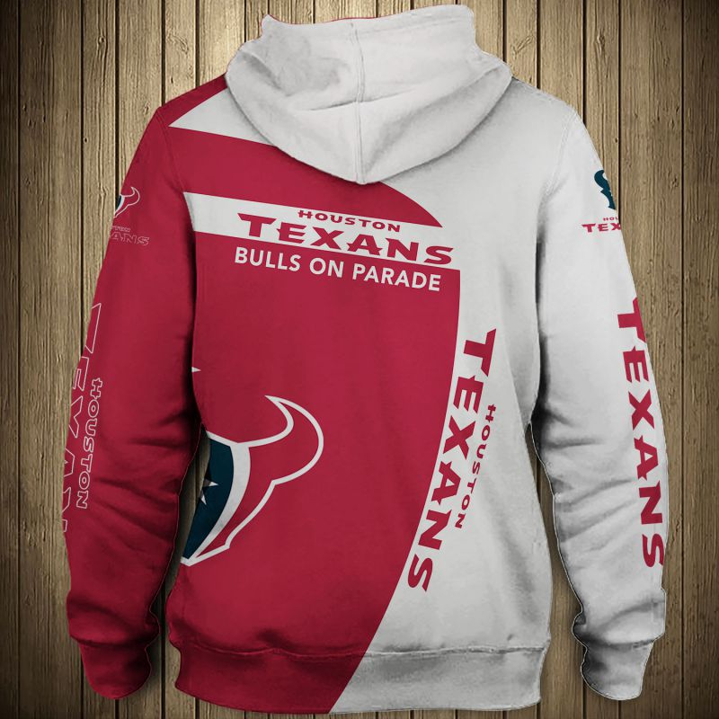National football league houston texans zip hoodie 1