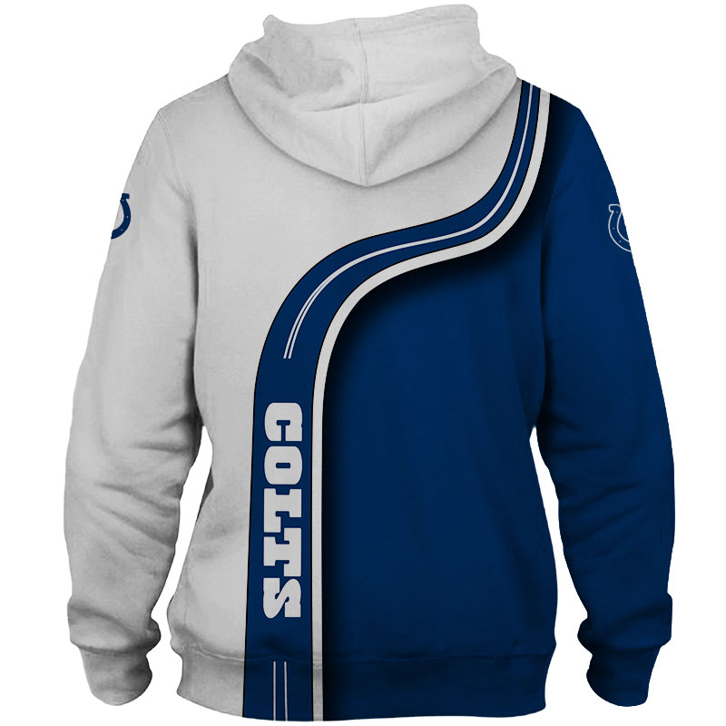 National football league indianapolis colts team zip hoodie 1