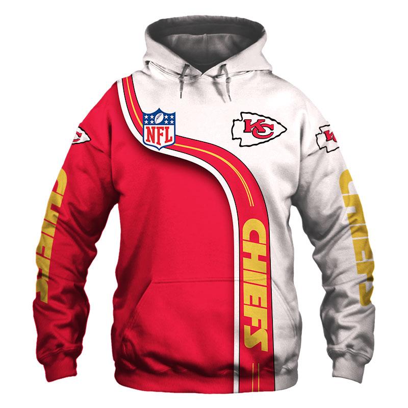 National football league kansas city chiefs hoodie