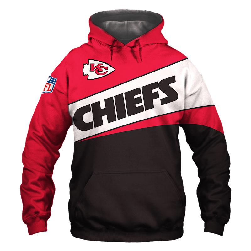 National football league kansas city chiefs team hoodie