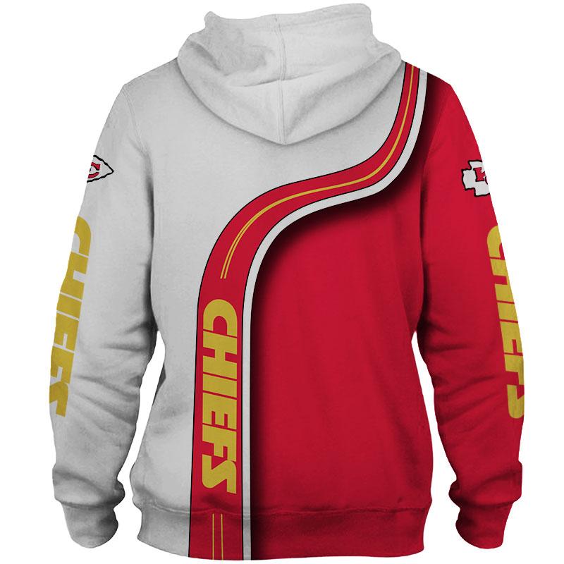 National football league kansas city chiefs zip hoodie 1