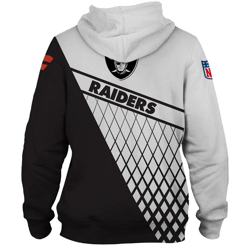 National football league las vegas raiders zip hoodie 1