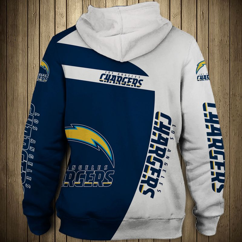 National football league los angeles chargers hoodie 1