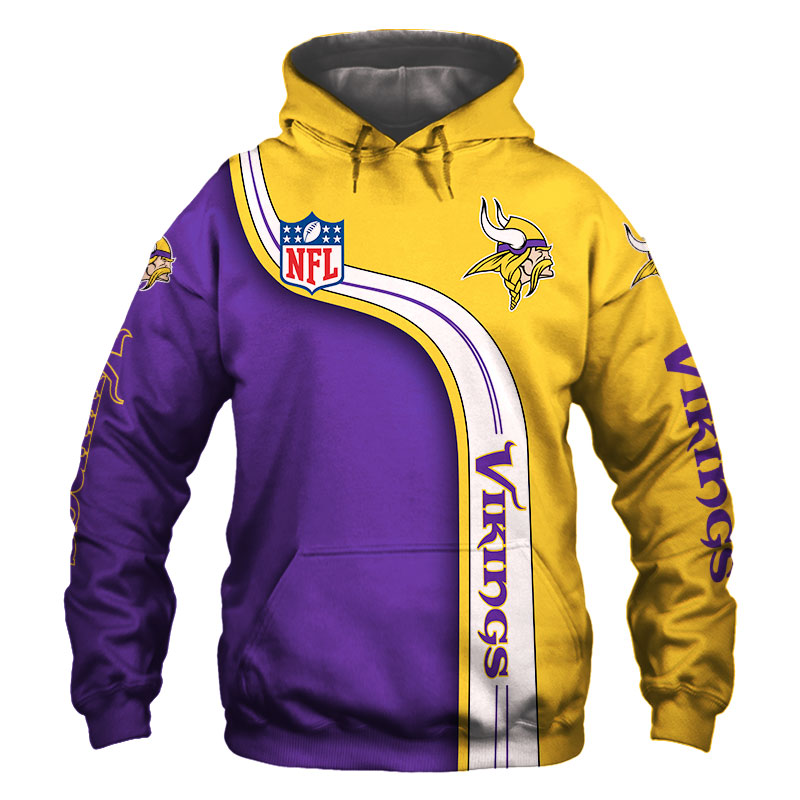 National football league minnesota vikings hoodie