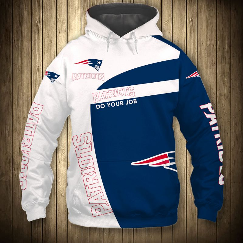National football league new england patriots hoodie