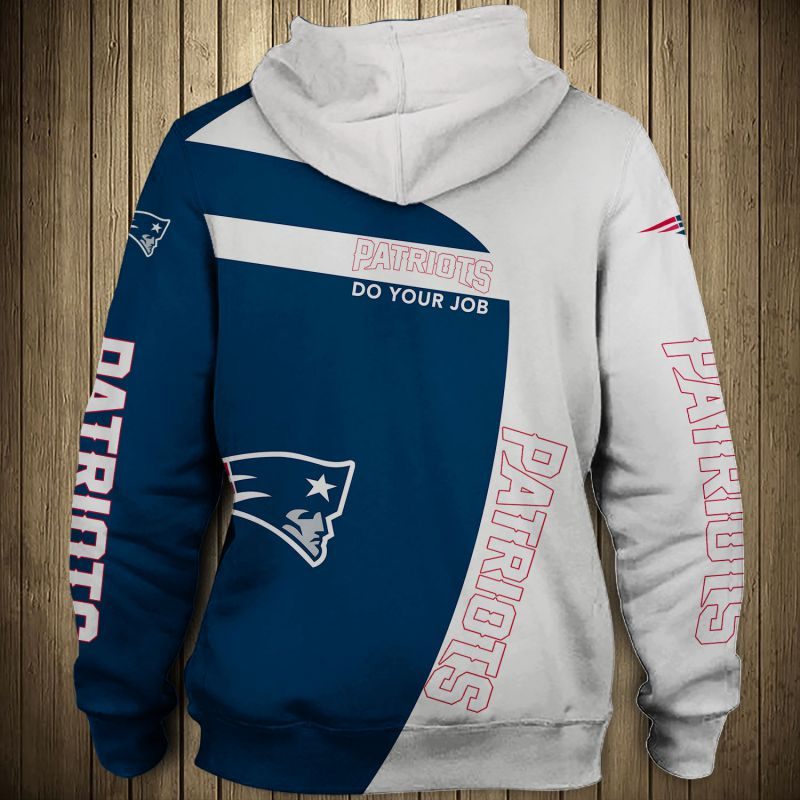 National football league new england patriots zip hoodie 1