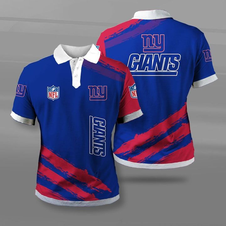 National football league new york giants full printing polo