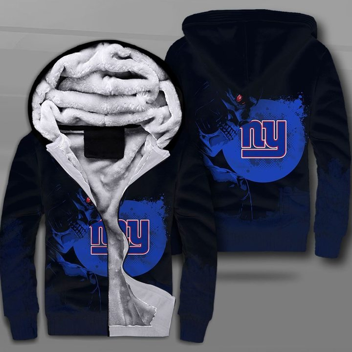 National football league new york giants terminator full printing fleece hoodie