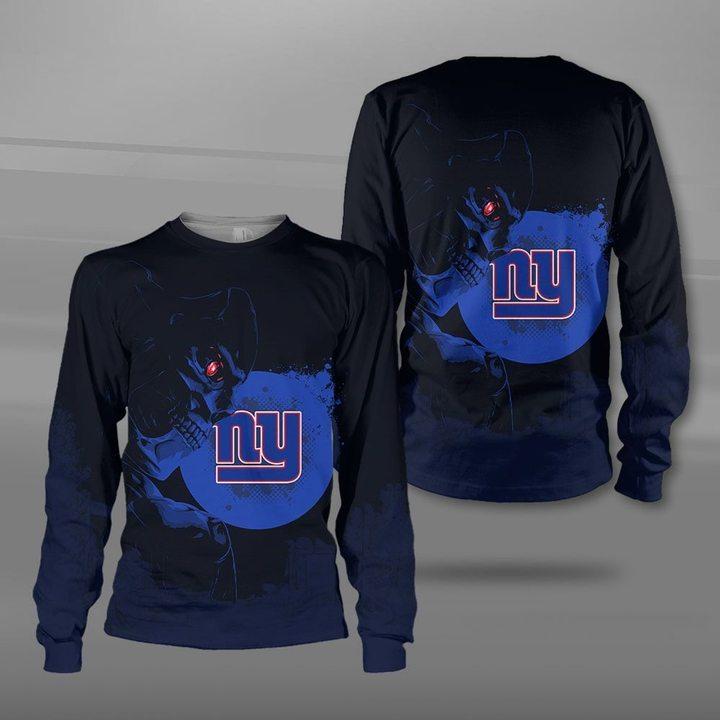 National football league new york giants terminator full printing sweatshirt