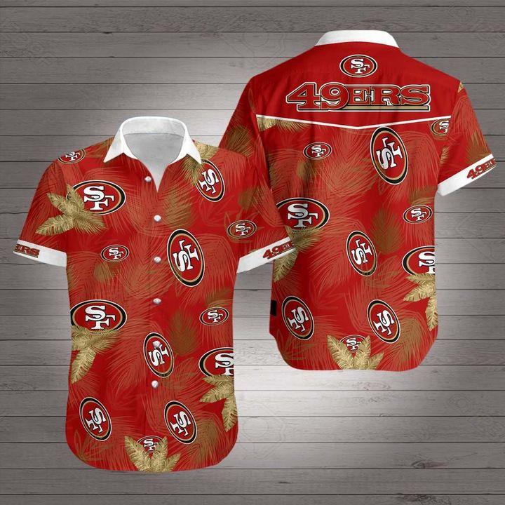 National football league san francisco 49ers hawaiian shirt 1