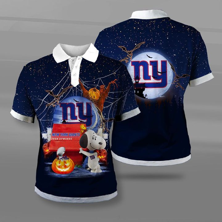 New york giants ever upwards snoopy full printing polo