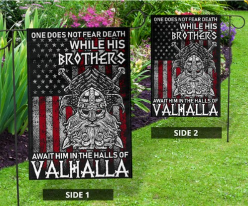 One-does-not-fear-death-while-his-brother-await-him-in-the-halls-of-valhalla-flag