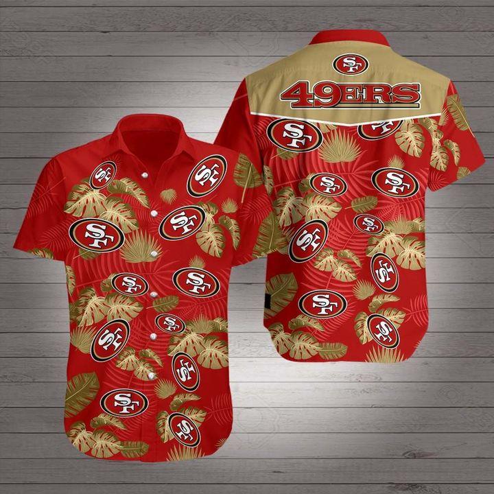 San francisco 49ers hawaiian shirt 1