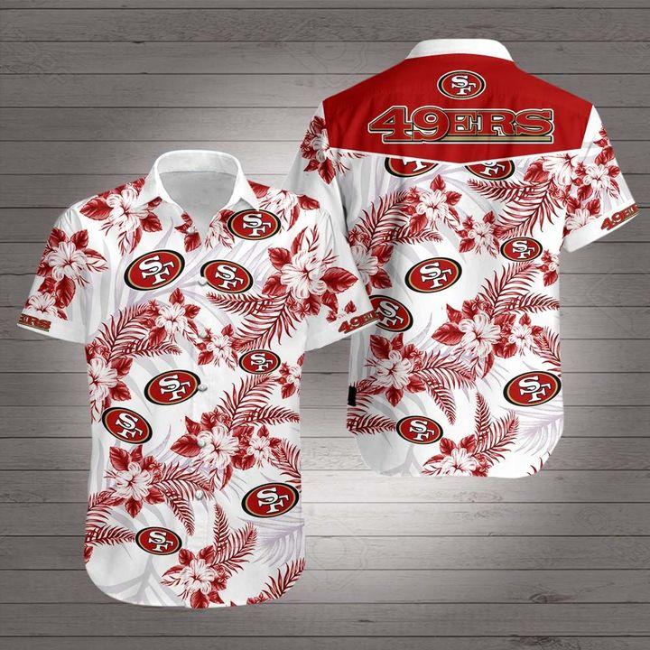 San francisco 49ers team hawaiian shirt 2