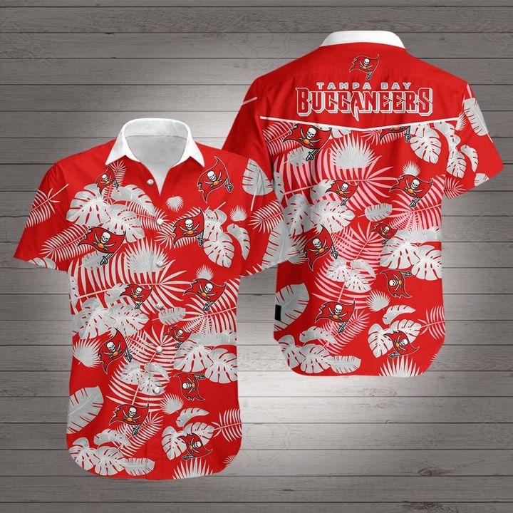 Tampa bay buccaneers hawaiian shirt 4