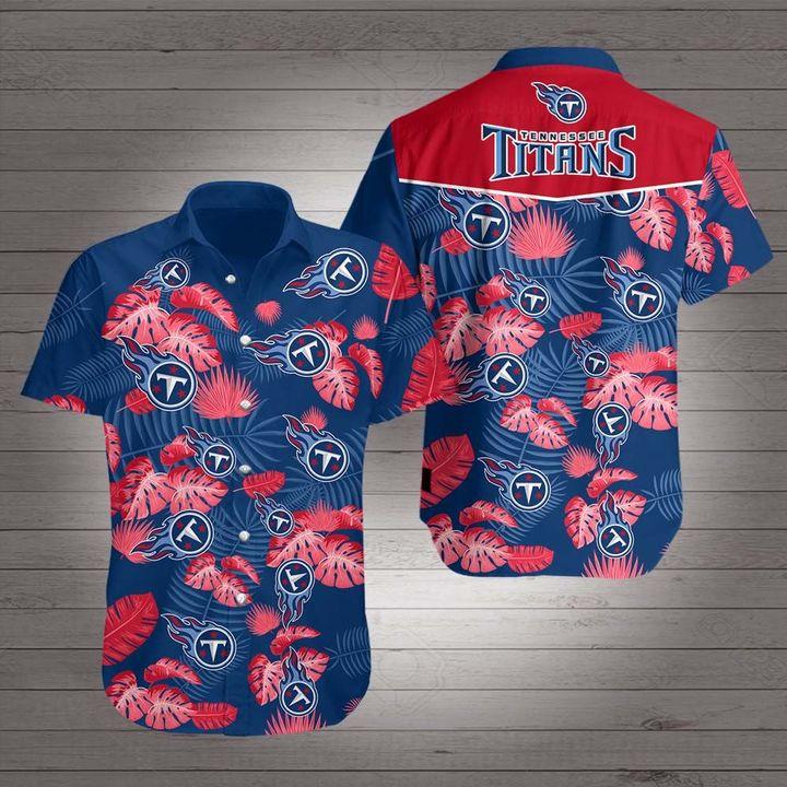 Tennessee titans team hawaiian shirt 1