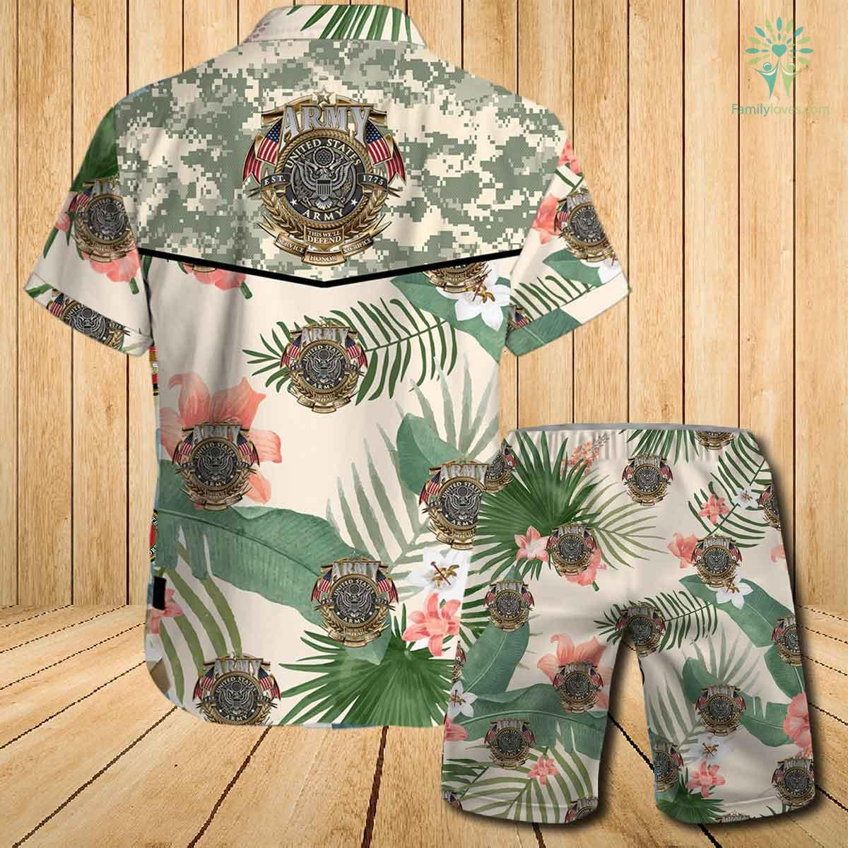 US army this we'll defend since 1775 honor service sacrifice all over printed hawaiian shirt 1