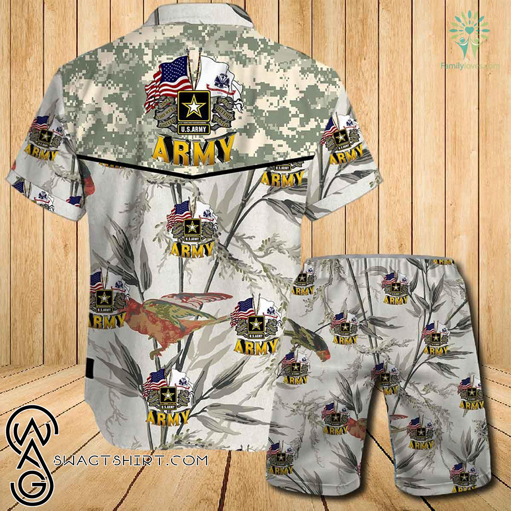 US army this we_ll defend since 1775 all over printed hawaiian shirt