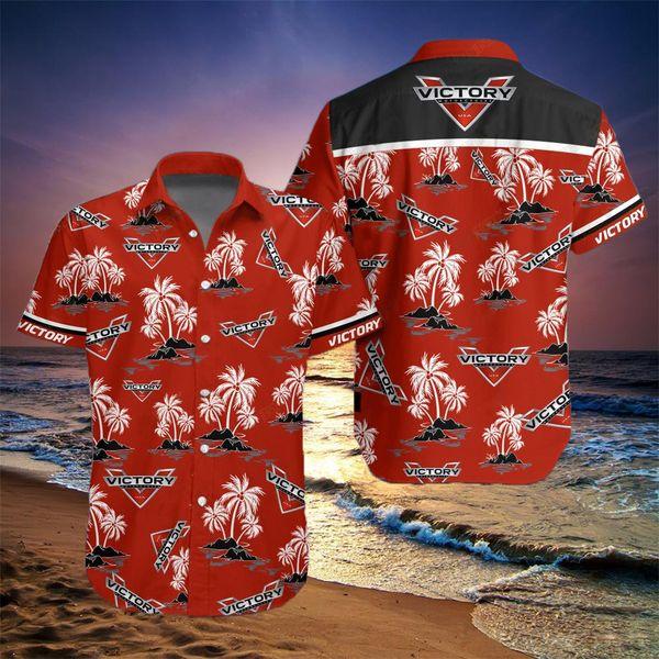Victory motorcycles hawaiian shirt 3
