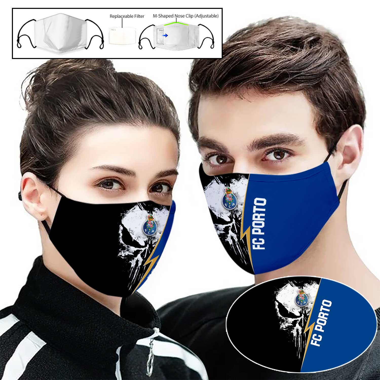 FC porto punisher full printing face mask 2