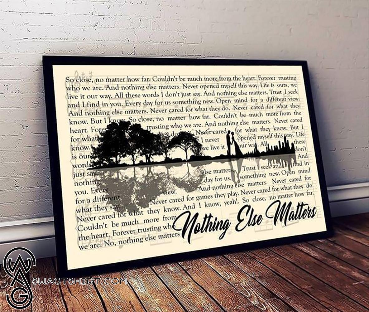 https swagtshirt com swag metallica nothing else matters lyrics guitar lake shadow poster