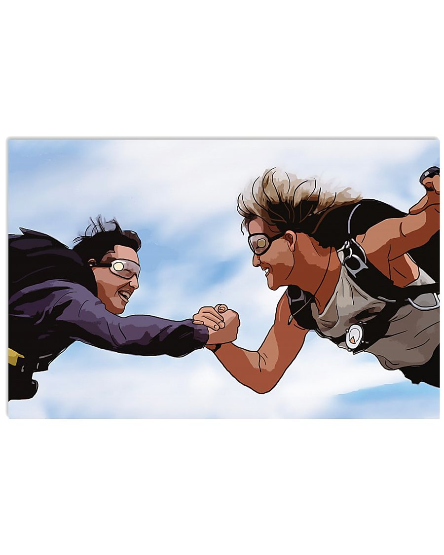 Point break compadres cartoon poster 1