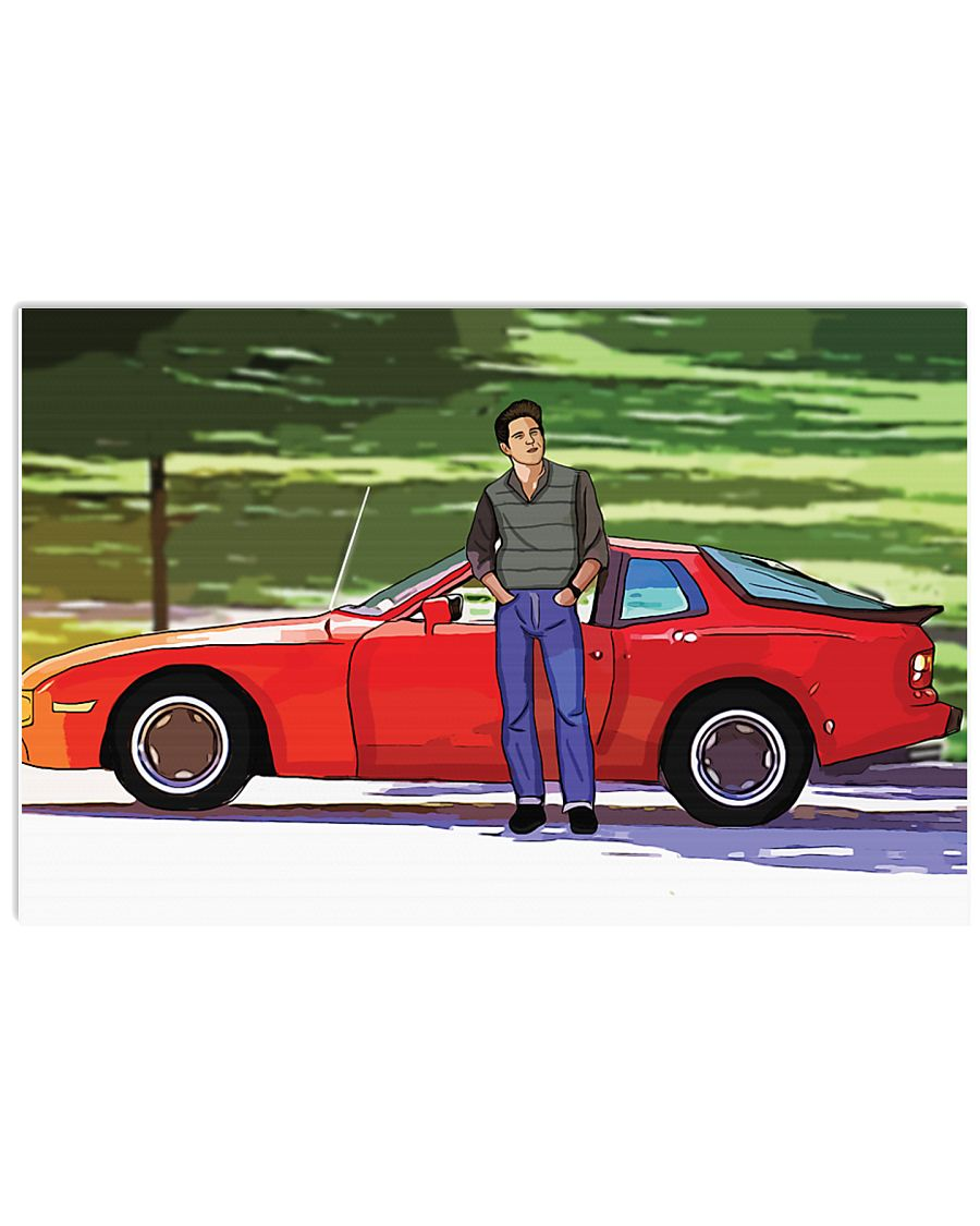 Sixteen candles jake ryan porsche 944 poster 2