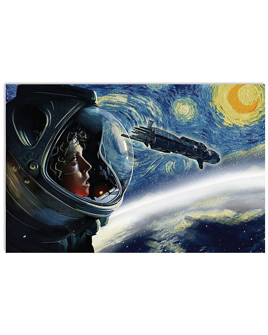 Vincent van gogh the starry night monster alien poster 4